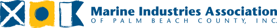 Marine Industries Association of Palm Beach County Logo